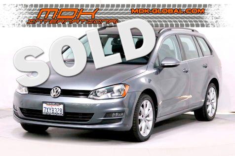 2017 Volkswagen Golf SportWagen SE - Back Up Cam - Sunroof - Heated Seats in Los Angeles