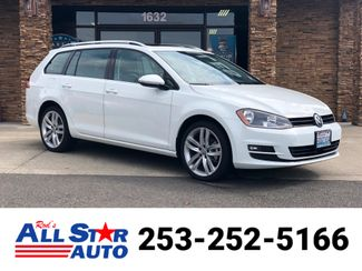 2017 Volkswagen Golf SportWagen SEL in Puyallup Washington, 98371