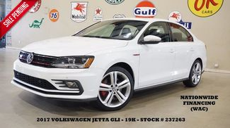 2017 Volkswagen Jetta GLI AUTO,ROOF,NAV,BACK-UP,HTD LTH,FENDER SYS,19K! in Carrollton TX, 75006