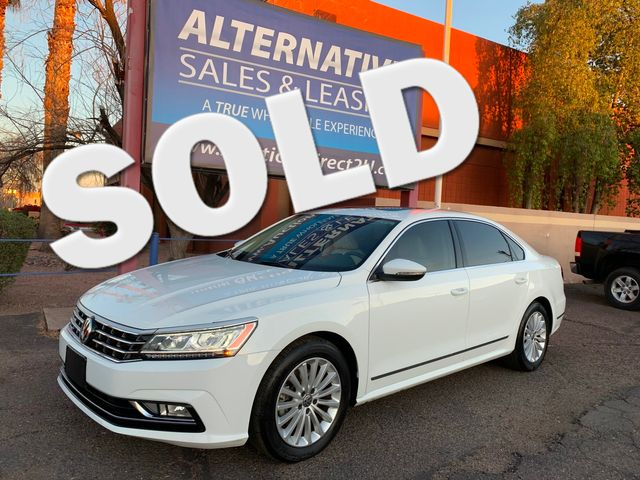 2017 Volkswagen Passat 1.8T SE 5 YEAR/60,000 MILE FACTORY POWERTRAIN WARRANTY Mesa, Arizona 0