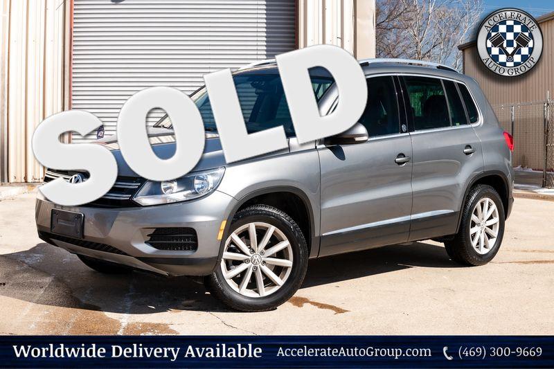 2017 Volkswagen Tiguan WOLFSBURG ED CLEAN CARFAX BACKUP CAM LEATHER NICE! in Rowlett Texas