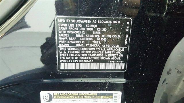 2017 Volkswagen Touareg V6 Executive 4Motion