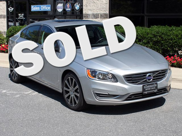 2017 Volvo S60  T5 Inscription Platinum Rockville, Maryland