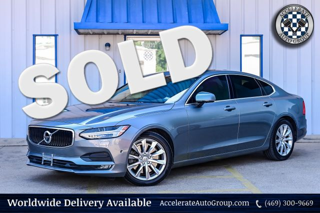 2017 Volvo S90 2.0L 4-CYLINDER SUPERCHARGED, T-9, MOMENTUM, CLEAN in Rowlett