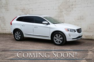 2017 Volvo XC60 Inscription AWD w/Navigation, Backup Cam, Heated Seats, Moonroof & in Eau Claire, Wisconsin 54703