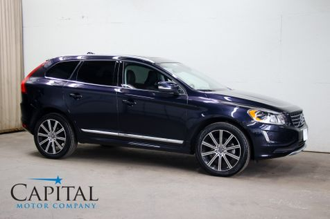 2017 Volvo XC60 Inscription AWD Crossover w/Navigation, Heated F/R Seats, Panoramic Roof, BLIS & 20