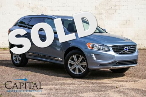 2017 Volvo XC60 Inscription AWD Crossover w/Navigation, Backup Cam, Blind Spot Monitor and Panoramic Roof in Eau Claire