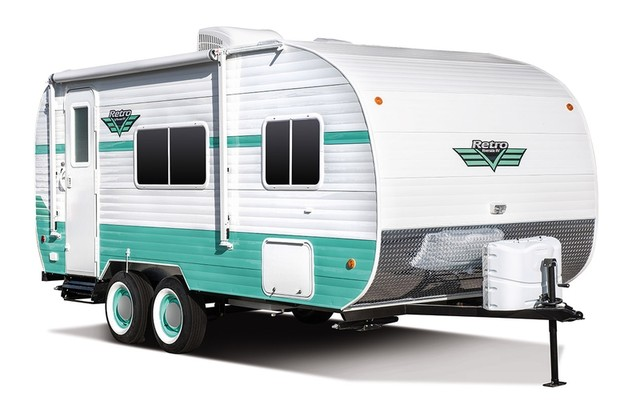 2017 Riverside Rv Retro 180R Mandan, North Dakota 0
