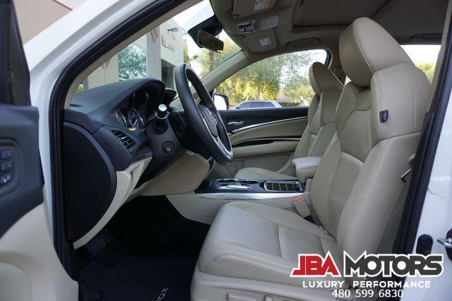 2018 Acura MDX Tech Package w/Technology Pkg Pearl White 3rd Row in Mesa, AZ 85202