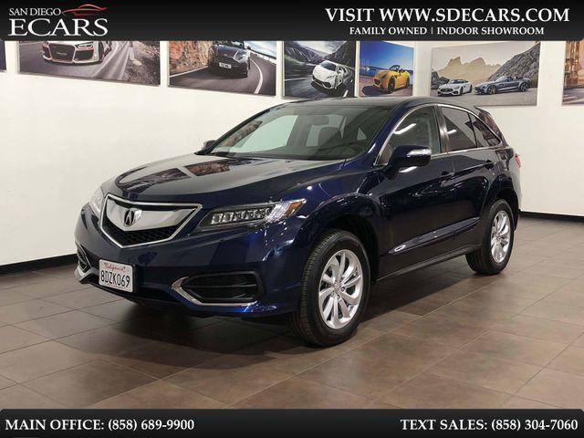 2018 Acura RDX w/Technology Pkg in San Diego, CA 92126