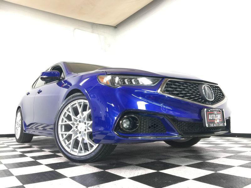 2018 Acura TLX *w/A-SPEC Pkg Red Leather* | The Auto Cave in Addison