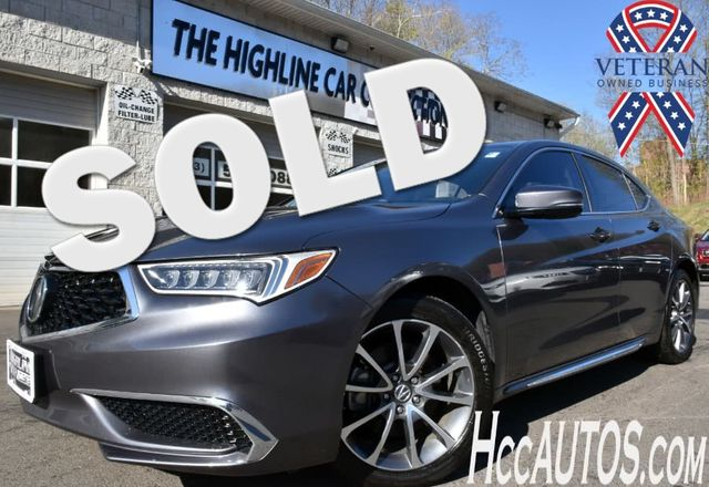 2018 Acura TLX w/Technology Pkg Waterbury, Connecticut