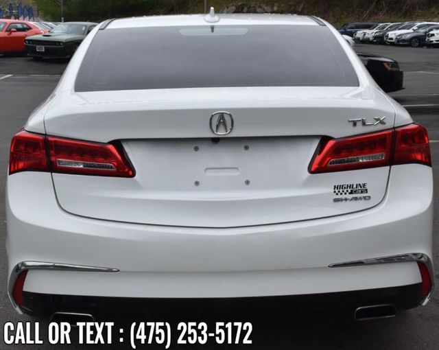 2018 Acura TLX 3.5L SH-AWD Waterbury, Connecticut 5