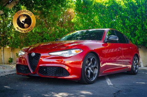 2018 Alfa Romeo Giulia Ti Sport in cathedral city