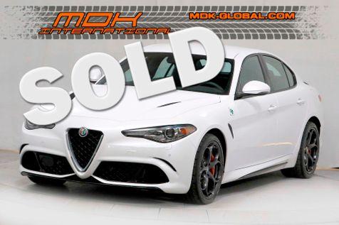 2018 Alfa Romeo Giulia Quadrifoglio - Warranty - Carbon wheel - 19