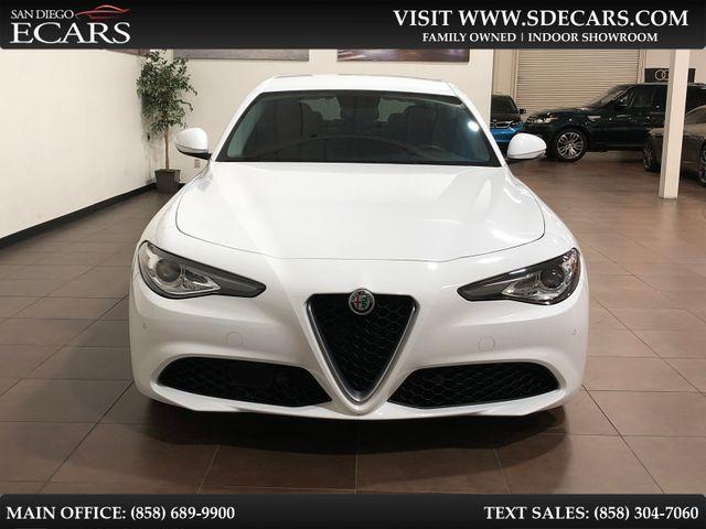 2018 Alfa Romeo Giulia Ti in San Diego, CA 92126