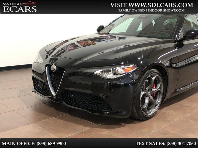 2018 Alfa Romeo Giulia Ti Sport in San Diego, CA 92126