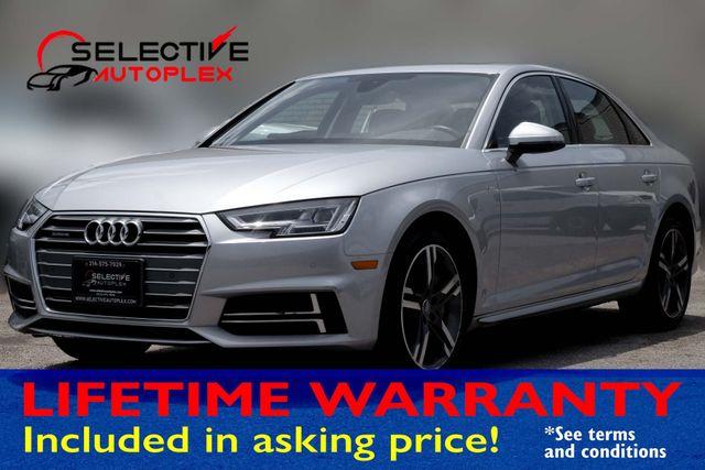 2018 Audi A4 Navigation,Back Up Camera,Heated Seats Premium Plus Bang & Olufsen Speakers