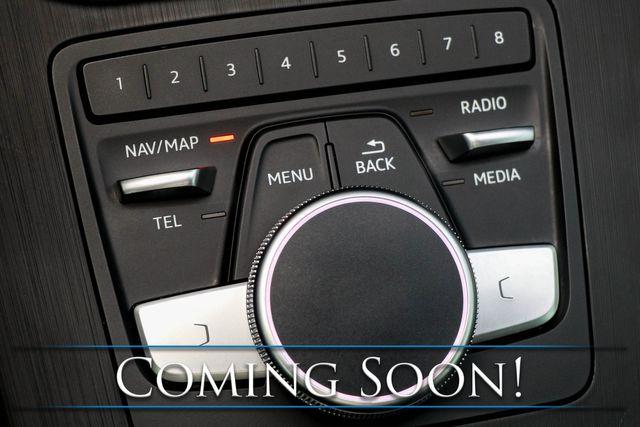 2018 Audi A4 Premium Plus 2.0T Quattro AWD w/2-Tone Interior, Nav, Backup Cam, 19-Speaker Audio in Eau Claire, Wisconsin 54703