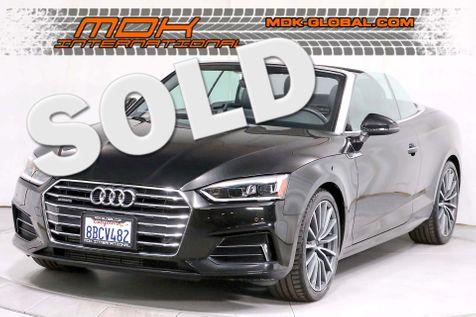 2018 Audi A5 Cabriolet Premium Plus - Quattro - 1 Owner in Los Angeles