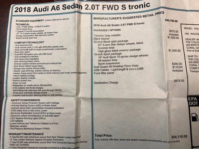 2018 Audi A6 Premium Longwood, FL 41