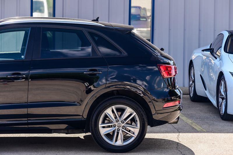 2018 Audi Q3 2.0T Premium S-Line, PANO ROOF, VERY CLEAN! in Rowlett, Texas