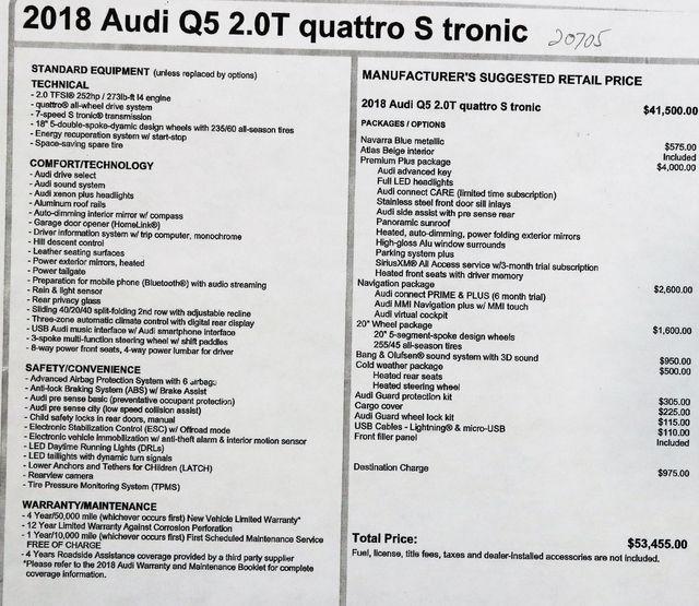 2018 Audi Q5 Premium Plus in Alexandria VA