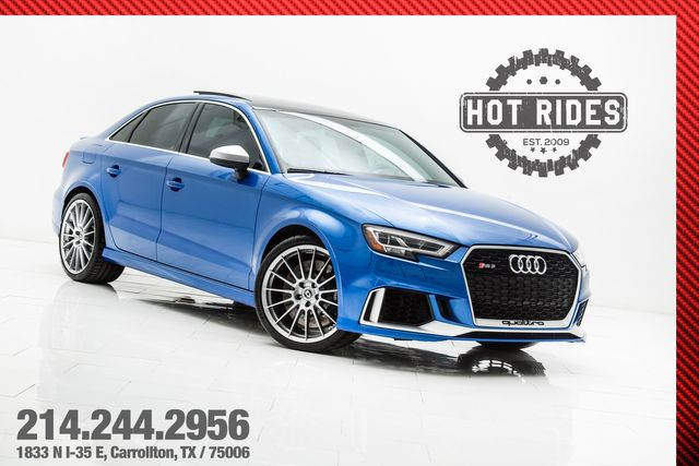 2018 Audi RS3 With Upgrades