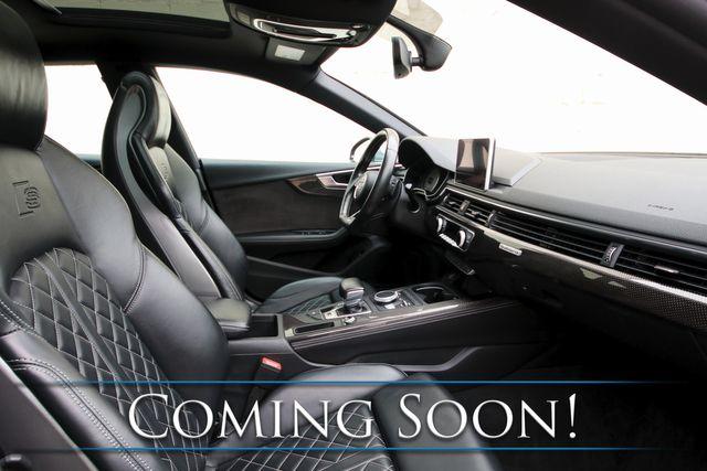 2018 Audi S5 Sportback Premium Plus 3.0T Quattro AWD w/Nav, Panoramic Roof, Heated/Massage Seats & 19s in Eau Claire, Wisconsin 54703