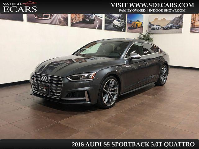 2018 Audi S5 Sportback Premium Plus