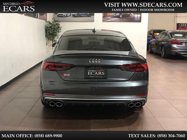 2018 Audi S5 Sportback Premium Plus in San Diego, CA 92126