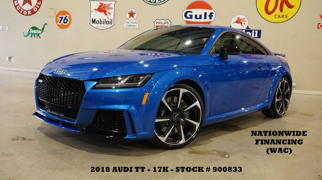 2018 Audi TT RS Quattro Coupe NAV,BACK-UP CAM,HTD LTH,17K,WE FINANCE in Carrollton, TX 75006
