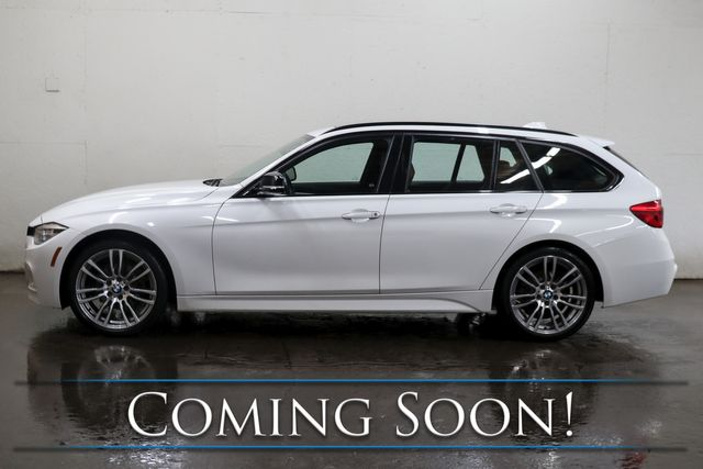 2018 BMW 328d xDrive AWD Clean Diesel M-Sport Wagon with Nav, Panoramic Roof, BT Audio & 2-Tone Interior in Eau Claire, Wisconsin 54703