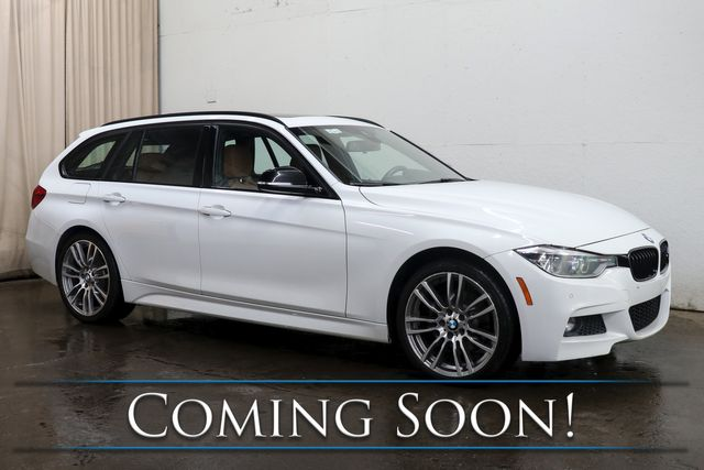 2018 BMW 328d xDrive AWD Clean Diesel M-Sport Wagon with Nav, Panoramic Roof, BT Audio & 2-Tone Interior