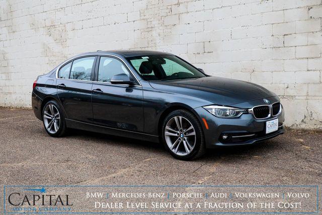 2018 BMW 330xi xDrive AWD Luxury Car w/Sport Pkg, Nav, Backup Cam, Heated Seats & Steering Wheel in Eau Claire, Wisconsin 54703