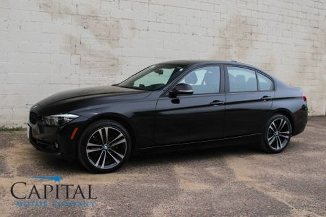 2018 BMW 330xi xDrive AWD Shadow Sport Edition with Backup Cam, Keyless Start, Heated Seats & 18