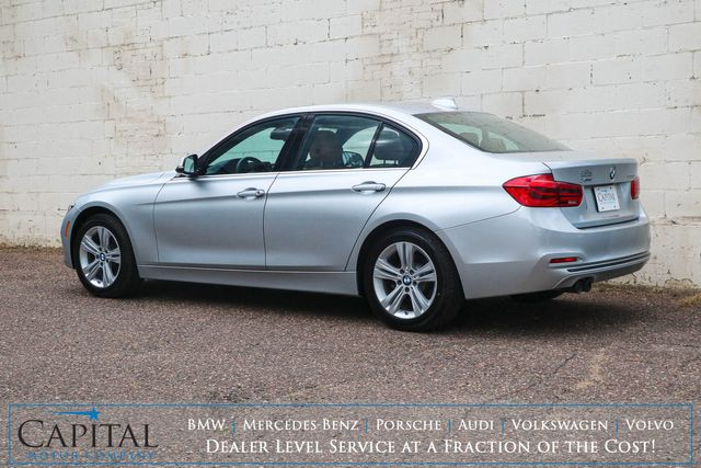 2018 BMW 330xi xDrive AWD w/Sport Pkg, Backup Cam, Heated Seats, BT Audio & LED Lights in Eau Claire, Wisconsin 54703