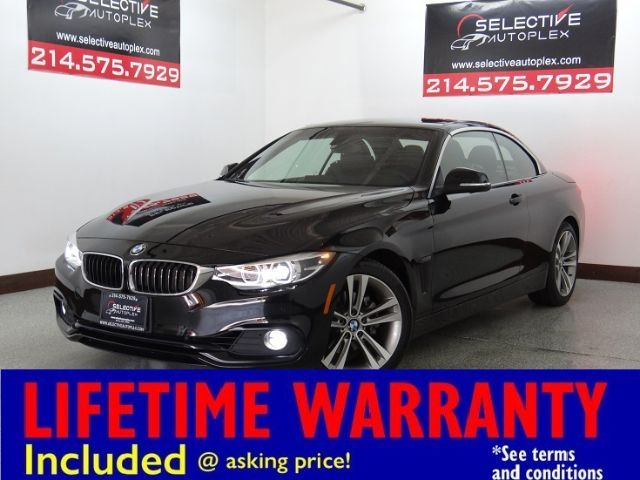 2018 BMW 430i 430i SULEV Convertible, NAV, LEATHER SEATS