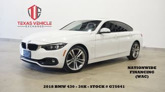 2018 BMW 430i Gran Coupe SUNROOF,BACK-UP CAM,LTH,36K,WE FINANCE in Carrollton, TX 75006