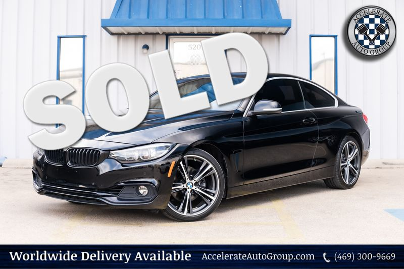 2018 BMW 430i NAV ESSENTIALS PKG LOADED SUNROOF CLEAN CARFAX!!! in Rowlett Texas
