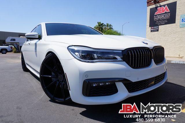 2018 BMW 750i M Sport Package 7 Series 750 Sedan