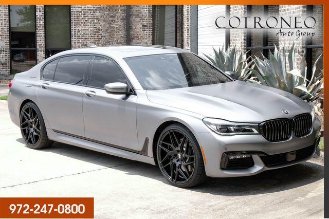 2018 BMW 750i xDrive M Sport Sedan in Addison, TX 75001