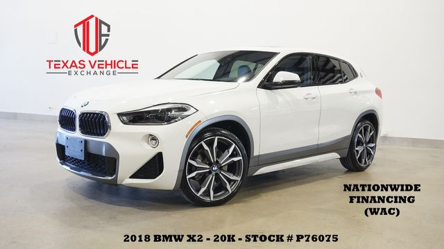 2018 BMW X2 sDrive28i M SPORT X PKG,PANO ROOF,NAV,LTH,20K,WE FINANCE