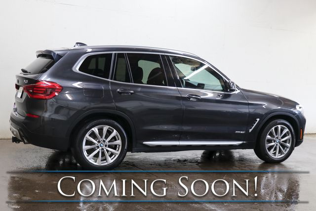 2018 BMW X3 xDrive30i AWD w/Adaptive Cruise, Nav, Panoramic Roof, LED Lights & H/K Premium Audio in Eau Claire, Wisconsin 54703