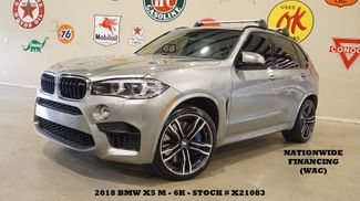 2018 BMW X5 M MSRP 105K,PANO ROOF,NAV,BACK-UP,HTD LTH,21'S,6K in Carrollton, TX 75006