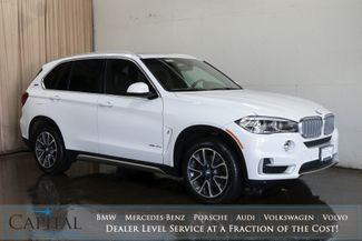 2018 BMW X5 xDrive40e iPerformance Hybrid SUV w/E-Drive Mode, HUD, Nav, 360º Camera and Heated F/R Seats in Eau Claire, Wisconsin 54703