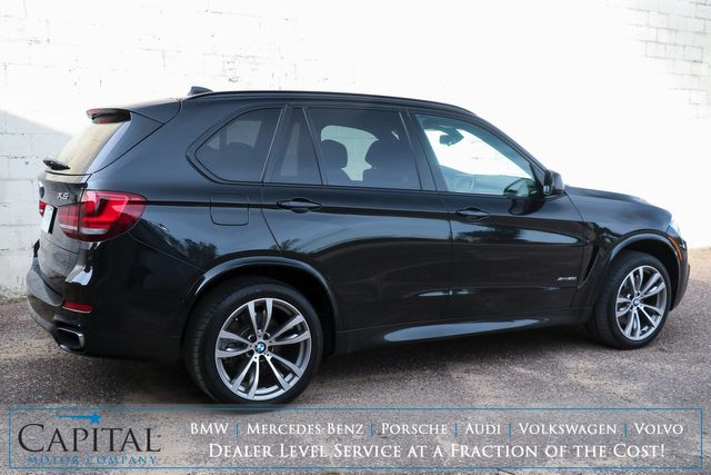 """2018 BMW X5 xDrive50i M-Sport V8 Luxury SUV with Head-Up Display, Nav, Panoramic Roof & 20"""" Wheels in Eau Claire, Wisconsin 54703"""