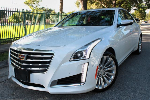 2018 Cadillac CTS Sedan Premium Luxury RWD
