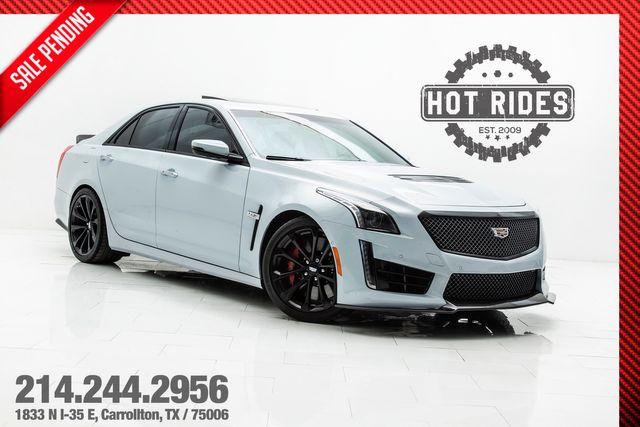 2018 Cadillac CTS-V Glacier White Edition 1 of 115