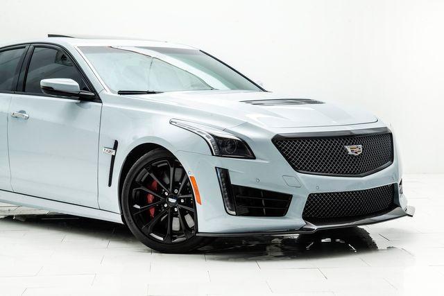 2018 Cadillac CTS-V Glacier White Edition 1 of 115 in Carrollton, TX 75006